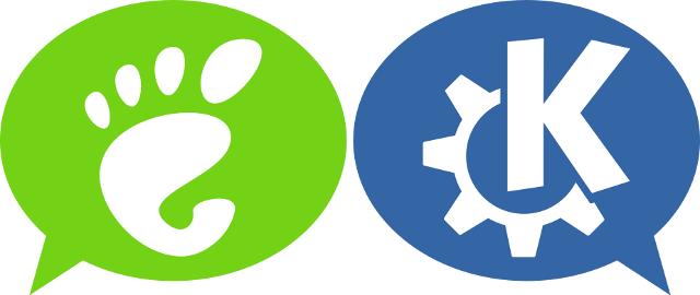 Gnome et KDE