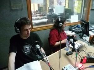 un des studios de radio campus 2