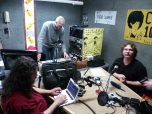 un des studios de radio campus 1