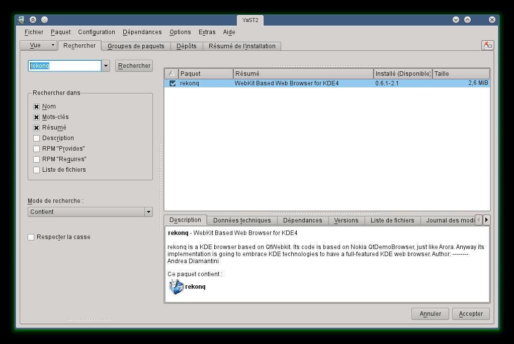 25 june 2011 opensuse et open source for Gestionnaire de fenetre