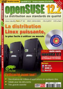 pochette Linux Identity openSUSE 12.2